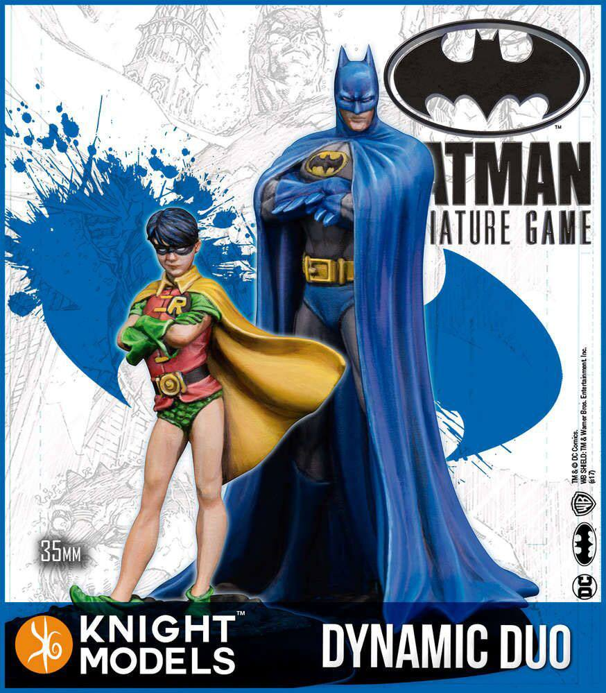 Batman Miniature Game 2nd Edition Miniatures Dynamic Duo *English Version*