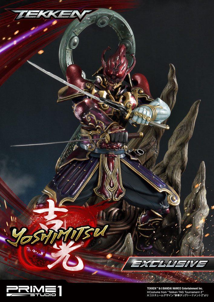 Tekken Statues 1/4 Yoshimitsu & Yoshimitsu Exclusive 70 cm Assortment (3)
