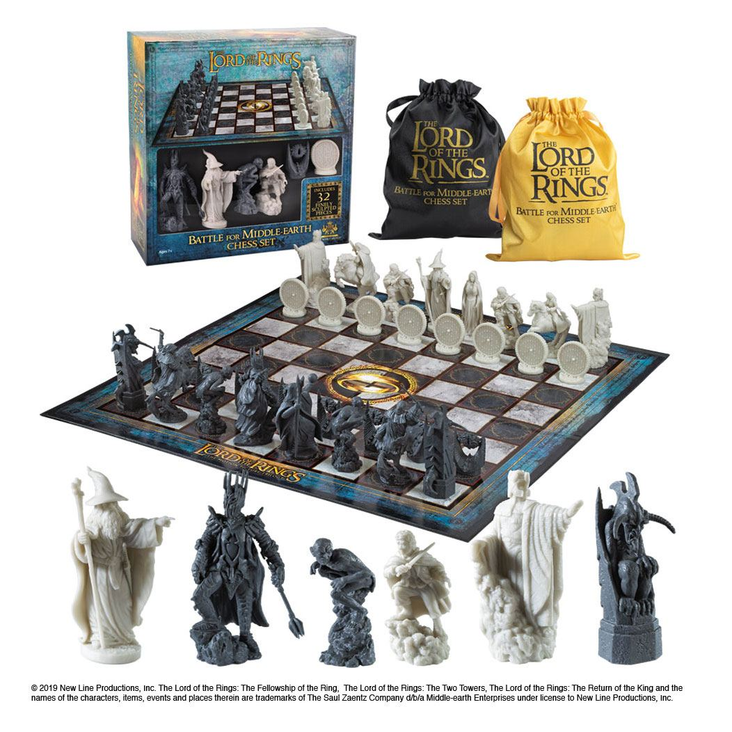 Lord of the Rings Chess Set Battle for Middle Earth