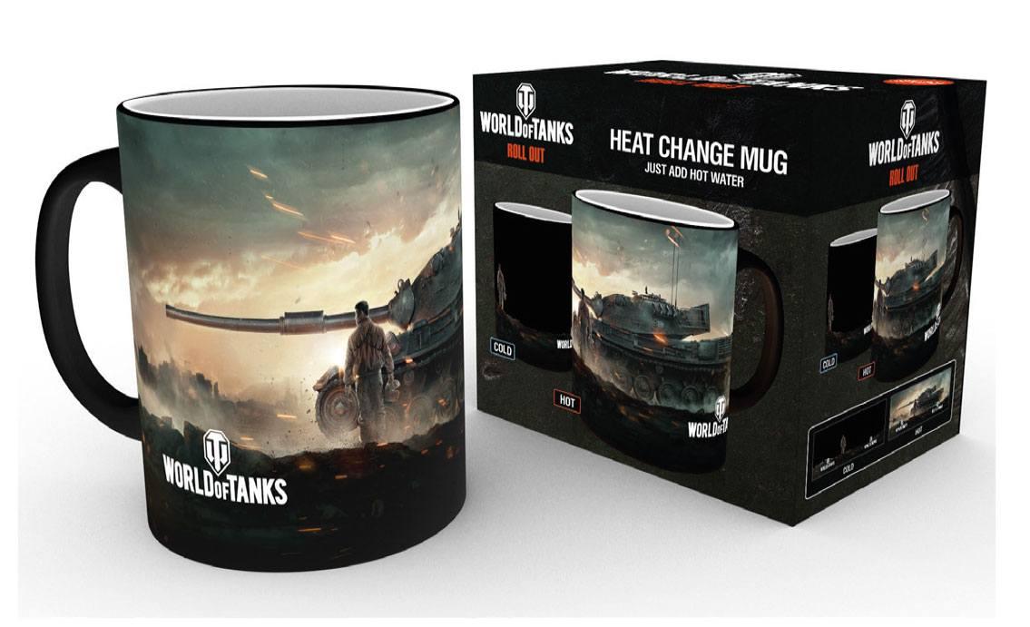 World of Tanks Heat Change Mug Tank