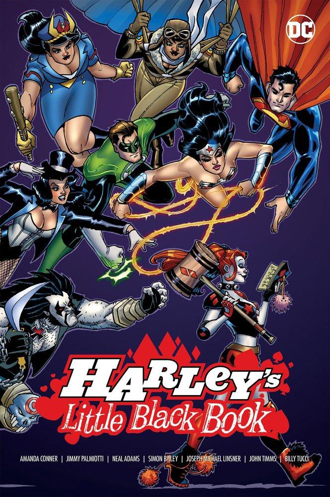 DC Comics Comic Book Harleys Little Black Book by Jimmy Palmiotti english