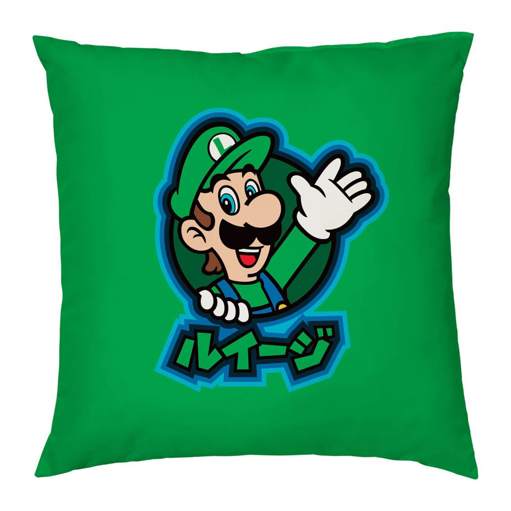Nintendo Pillow Luigi Kanji