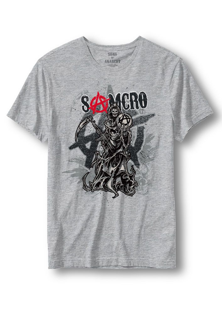 Sons of Anarchy T-Shirt Anarchy Reaper Size S