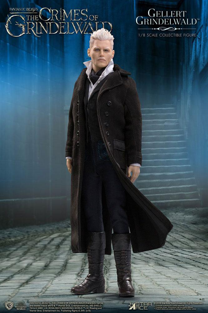 Fantastic Beasts 2 Real Master Series Action Figure 1/8 Gellert Grindelwald 23 cm