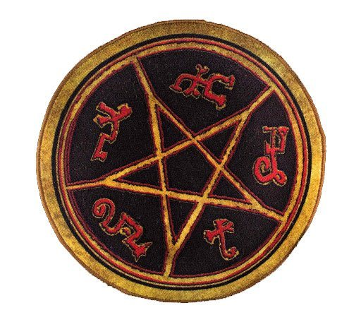 Supernatural Doormat Devil's Trap 61 cm
