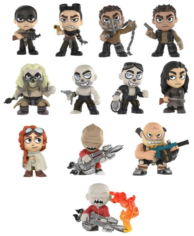 Mad Max Fury Road Mystery Minis Vinyl Mini Figures 6 cm Display (12)