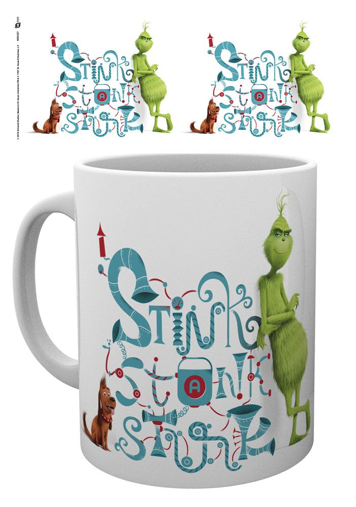 The Grinch (2018) Mug Stink