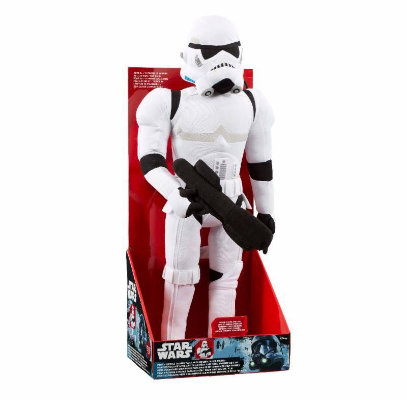 Star Wars Mega Poseable Talking Plush Figure Stormtrooper 61 cm *English Version*