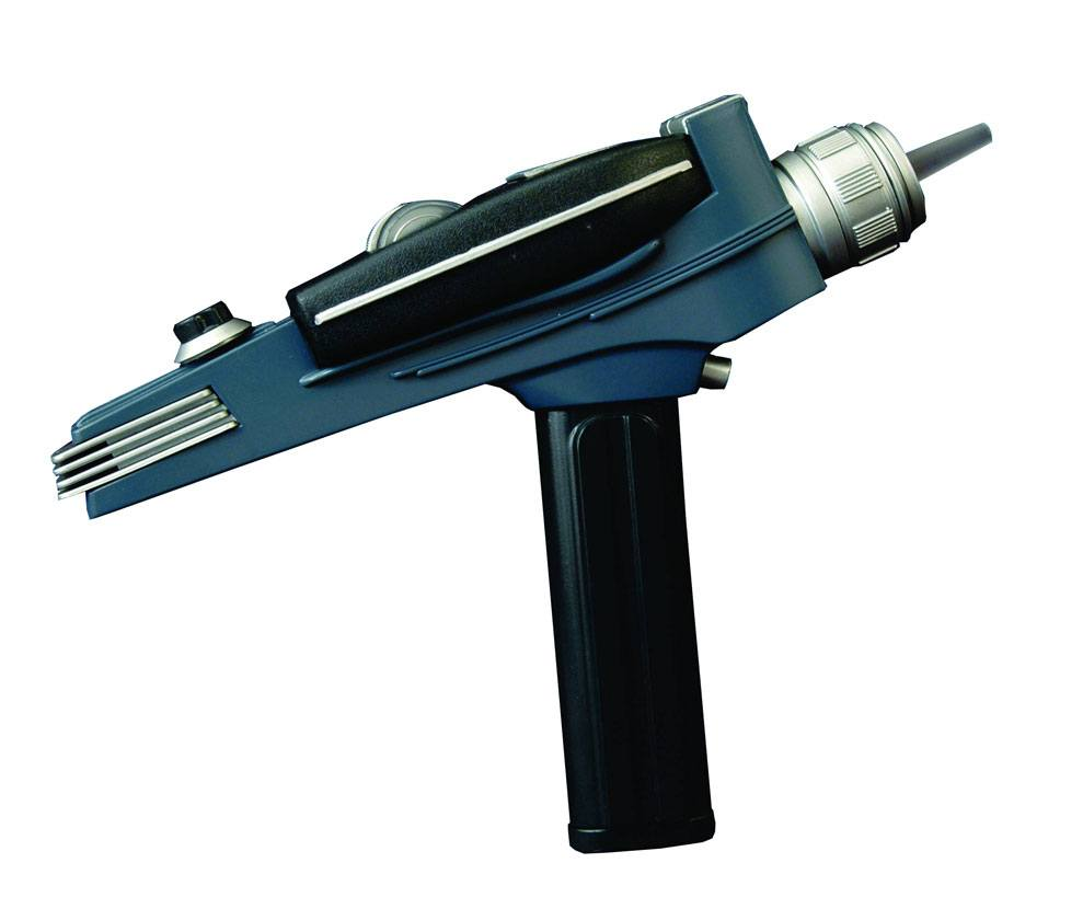 Star Trek TOS Replica 1/1 Black Handle Phaser