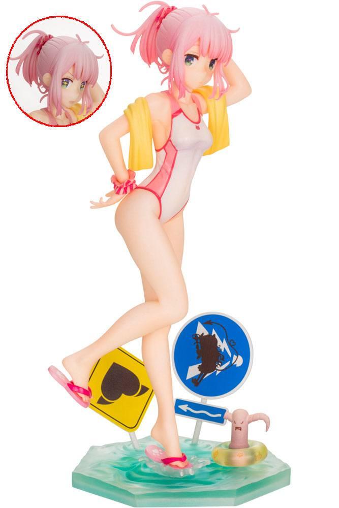 The Demon Girl Next Door PVC Statue 1/7 Momo Chiyoda Swimsuit Ver. Bonus Edition 22 cm