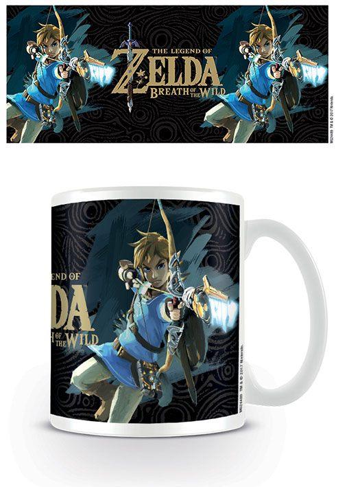 Legend of Zelda Breath of the Wild Mug Game Cover