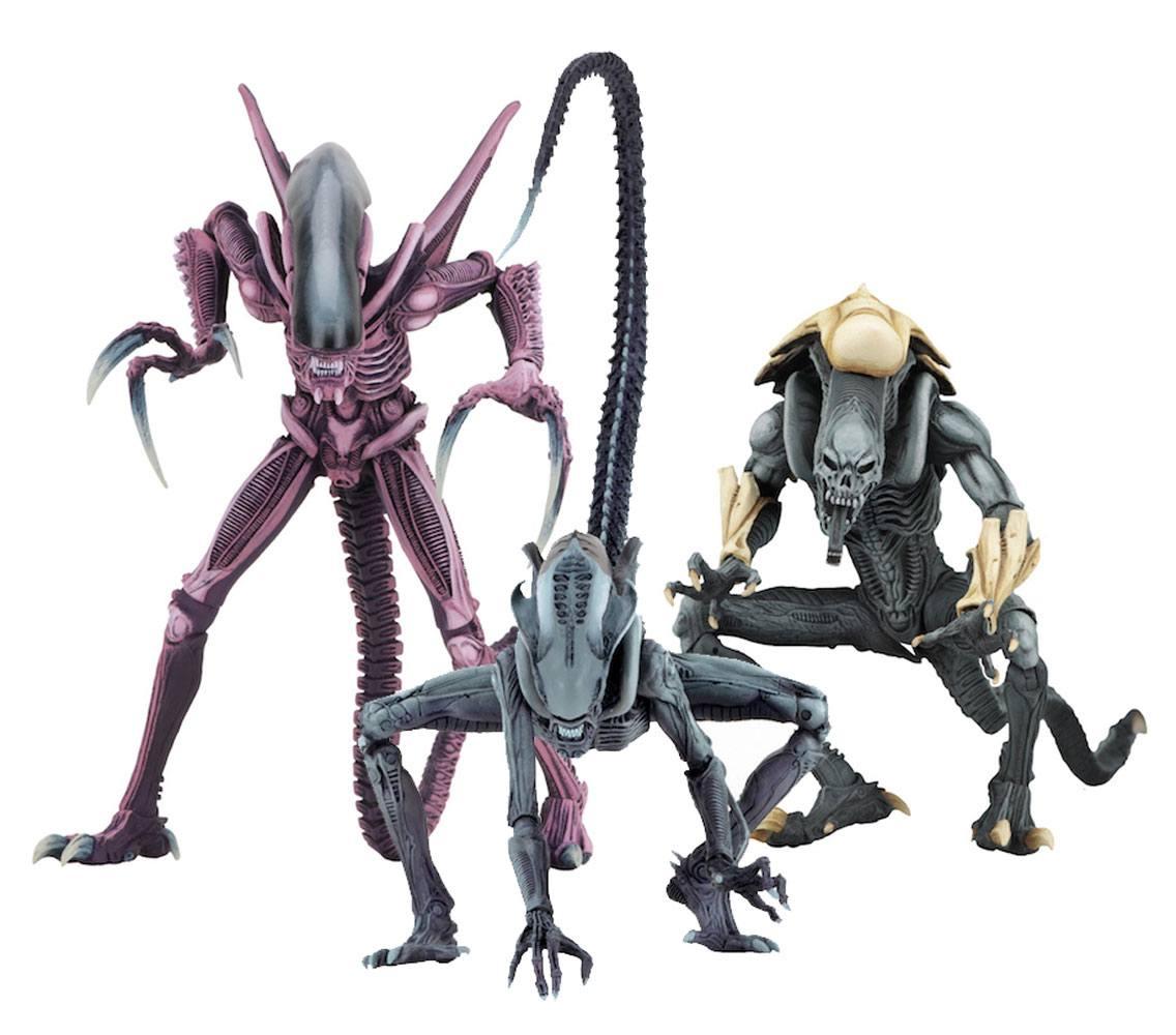 Alien vs Predator Action Figure 22 cm Alien Arcade Appearance Case (14)