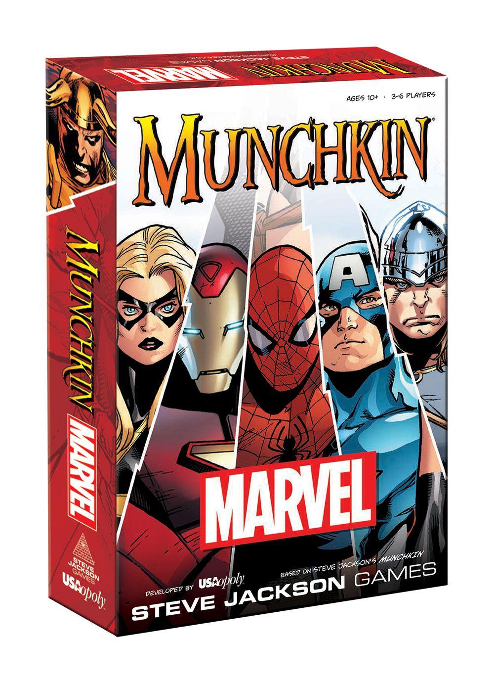 Munchkin Card Game Marvel *English Version*