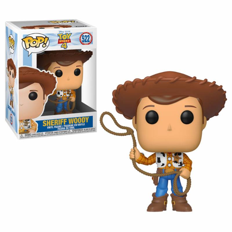 Toy Story 4 POP! Disney Vinyl Figure Woody 9 cm