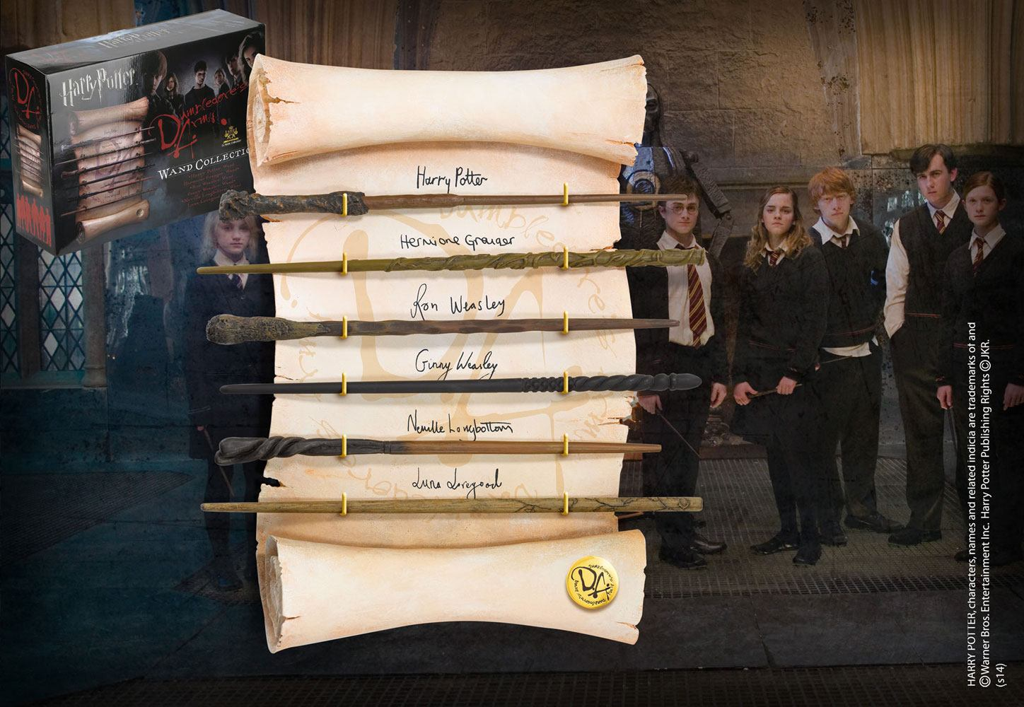 Harry Potter Wand Collection Dumbledore´s Army