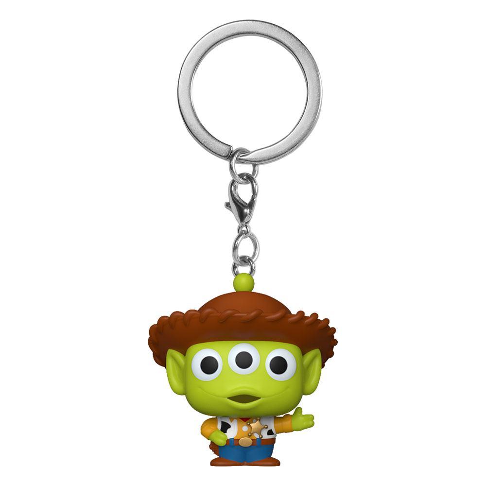 Toy Story Pocket POP! Vinyl Keychain Alien as Woody 4 cm