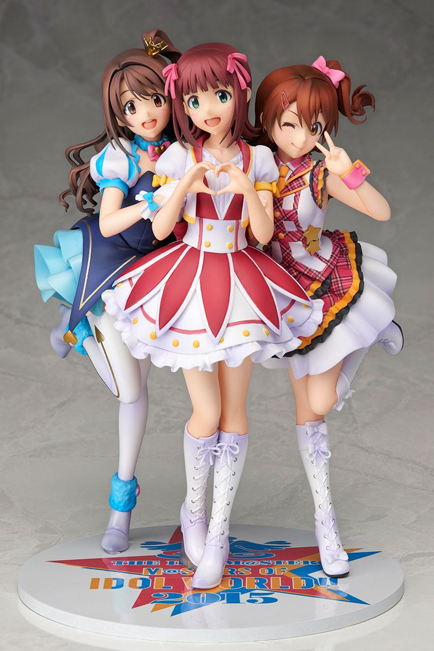 The Idolmaster Masters Of Idol World PVC Statue 1/8 10th Anniversary Memorial 21 cm