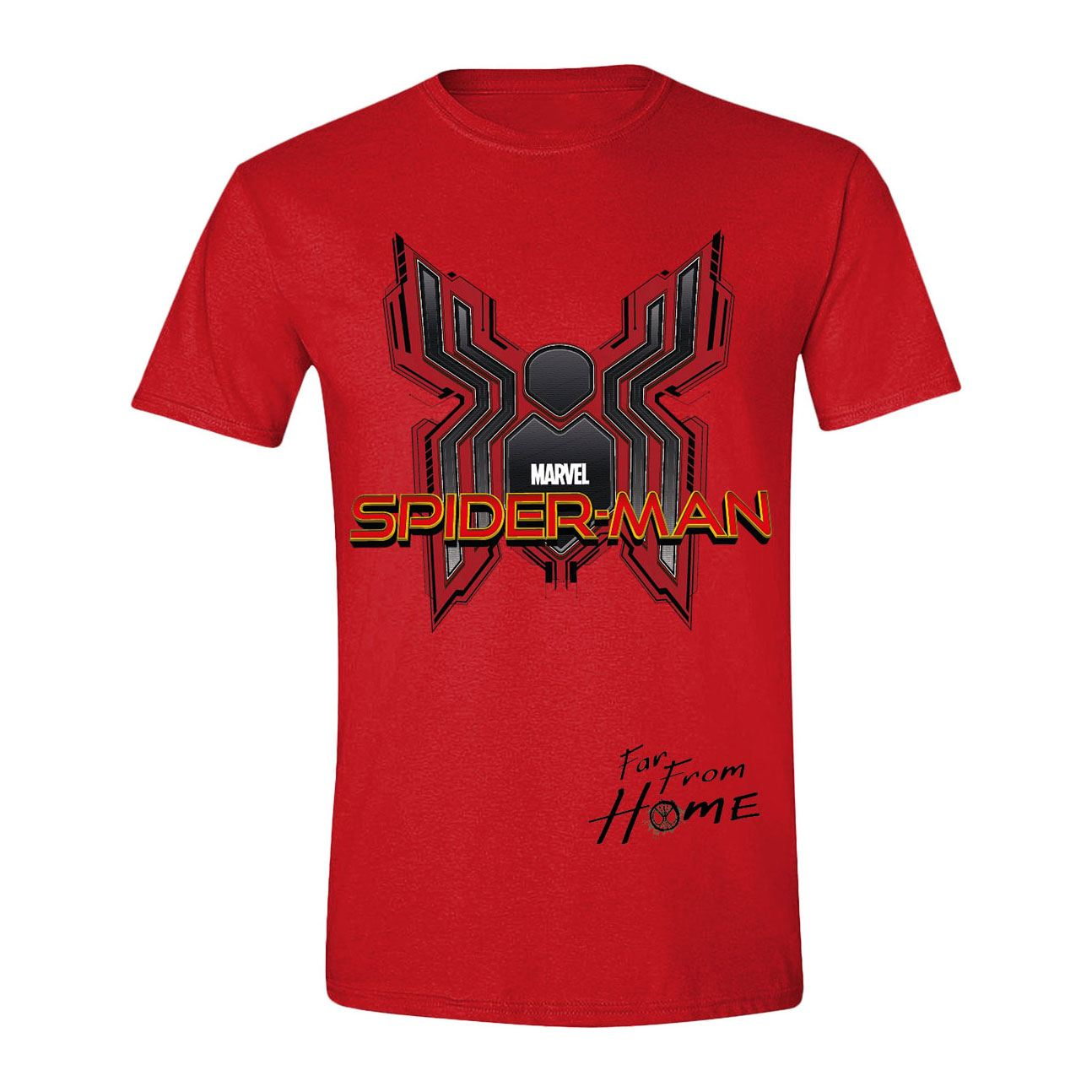 Spider-Man: Far From Home T-Shirt Digital Emblem Size S