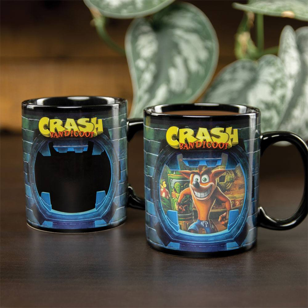 Crash Bandicoot Heat Change Mug Crash Bandicoot