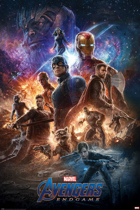 Avengers: Endgame Poster Pack From The Ashes 61 x 91 cm (5)