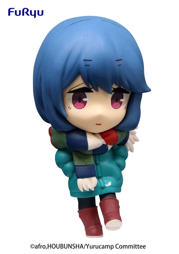 Laid-Back Camp Season 2 Chobirume PVC Statue Rin Shima 7 cm