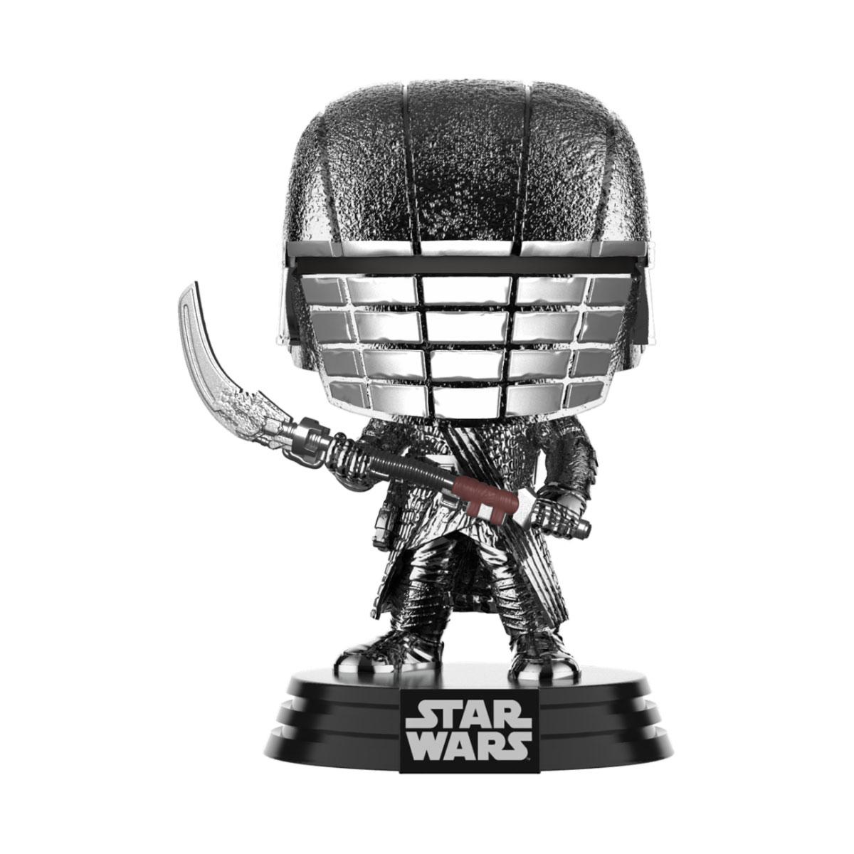 Star Wars POP! Movies Vinyl Figure KOR Scythe (Chrome) 9 cm