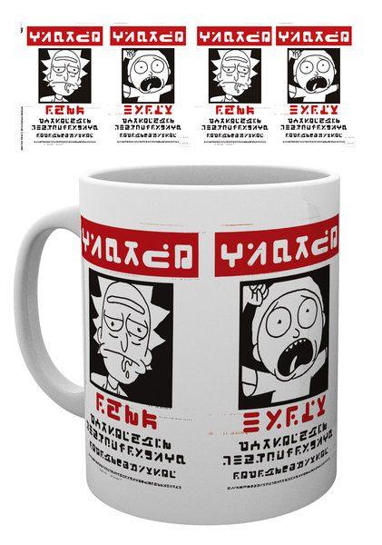 Rick and Morty Mug Wanted