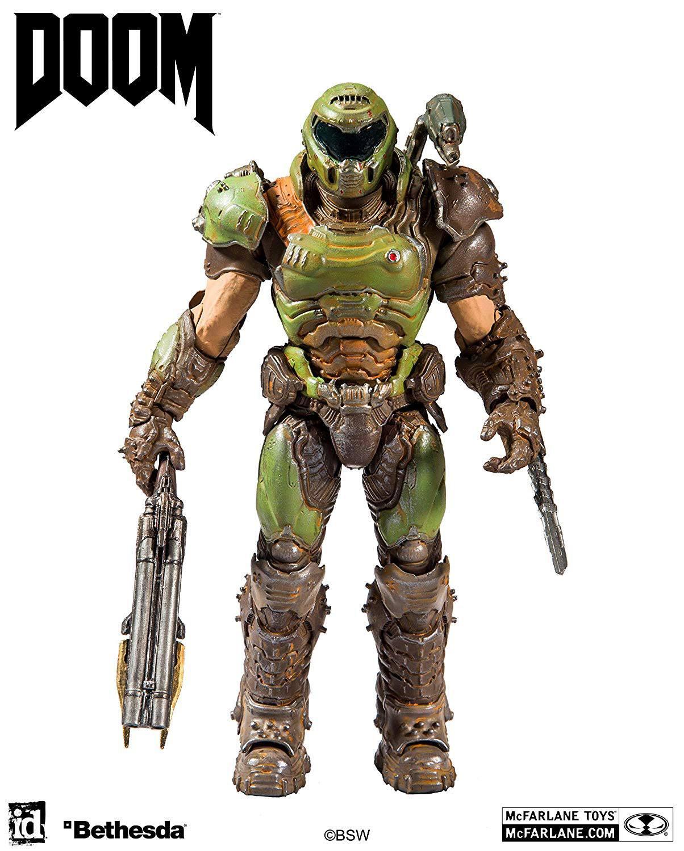 Doom Eternal Action Figure Doom Slayer 18 cm