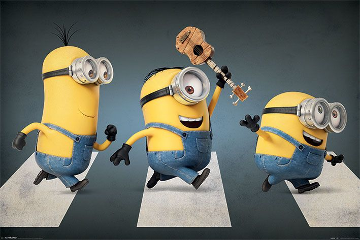 Minions Poster Pack Abbey Road 61 x 91 cm (5)
