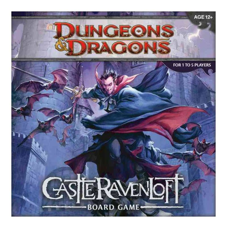 Dungeons & Dragons Board Game Castle Ravenloft english