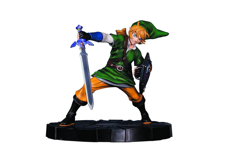 The Legend of Zelda Skyward Sword PVC Statue Link 25 cm --- DAMAGED PACKAGING