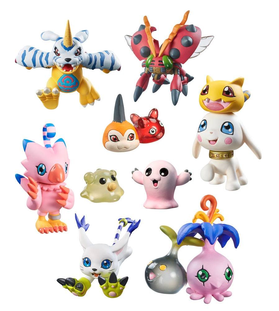 Digimon Adventure Digicolle! Series Trading Figure 5 cm Data 2 Assortment (8)