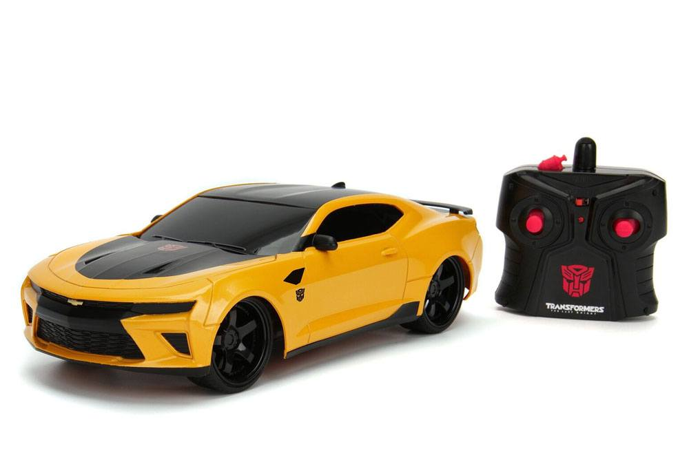 Transformers The Last Knight RC Car 1/16 2016 Chevy Camaro Bumblebee
