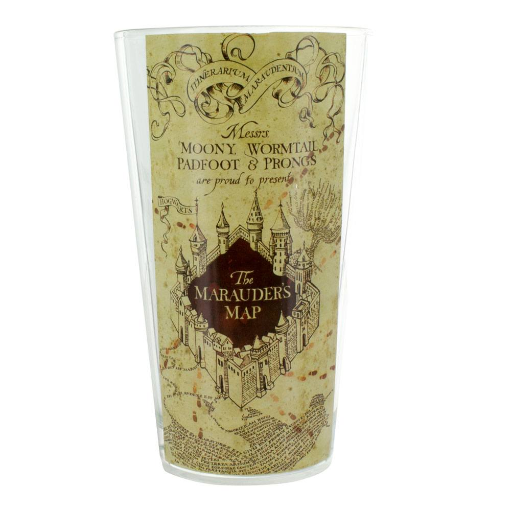 Harry Potter Glass Marauders Map