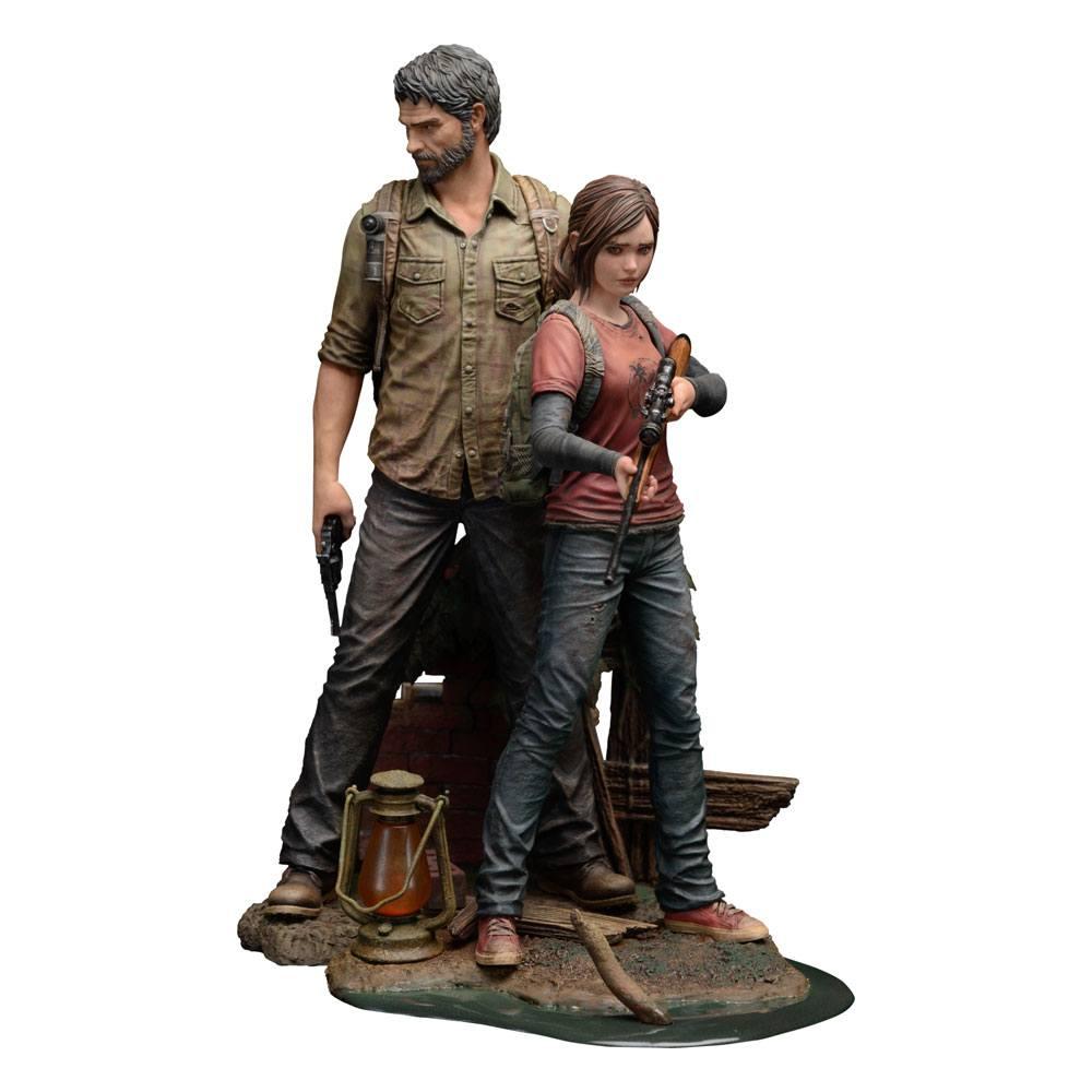 The Last of Us PVC Statues 1/9 Joel & Ellie