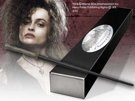 Harry Potter toverstaf Bellatrix Lestrange (Character-Edition)