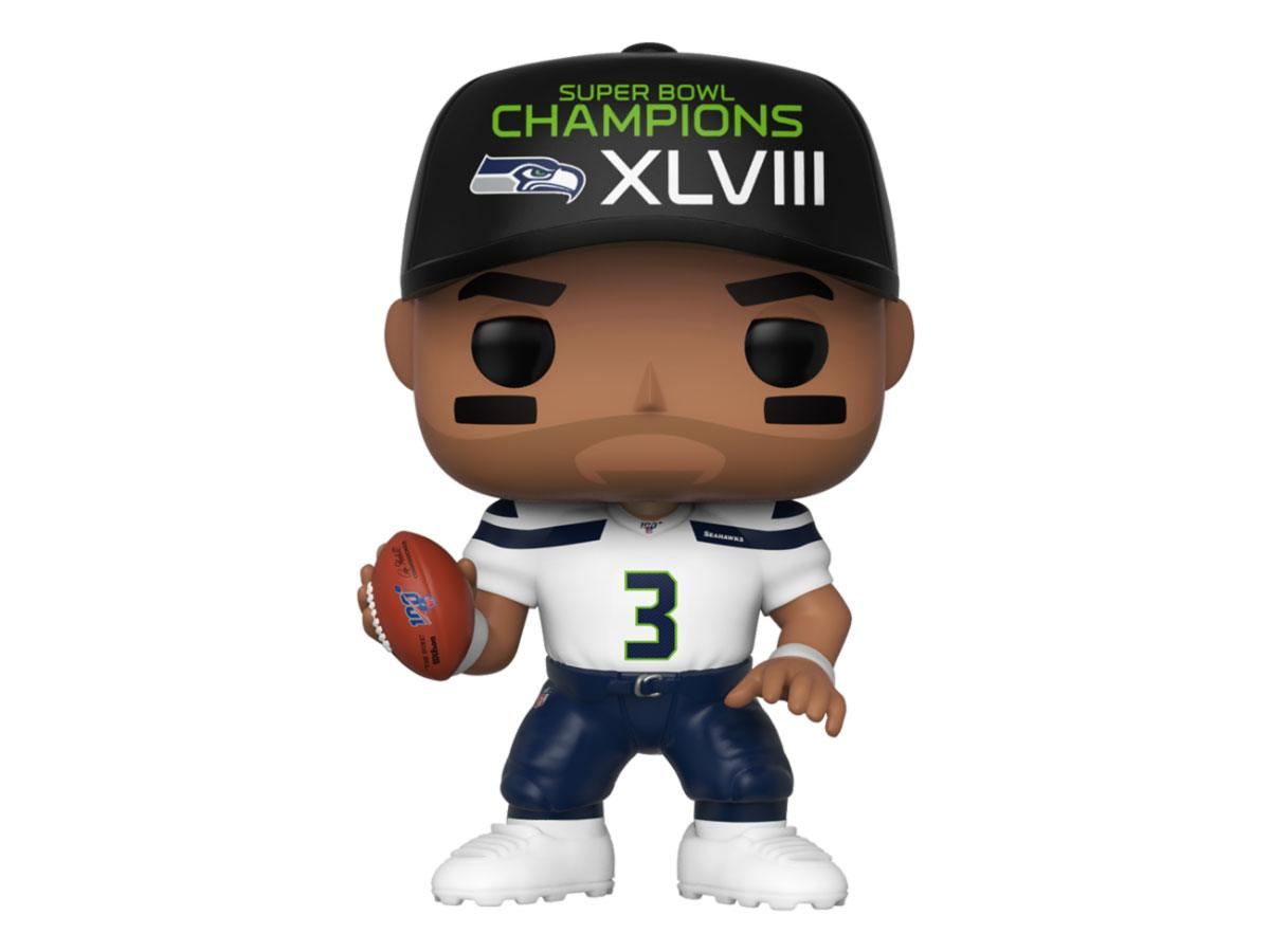 NFL POP! Sports Vinyl Figure Russell Wilson (SB Champions XLVIII) 9 cm