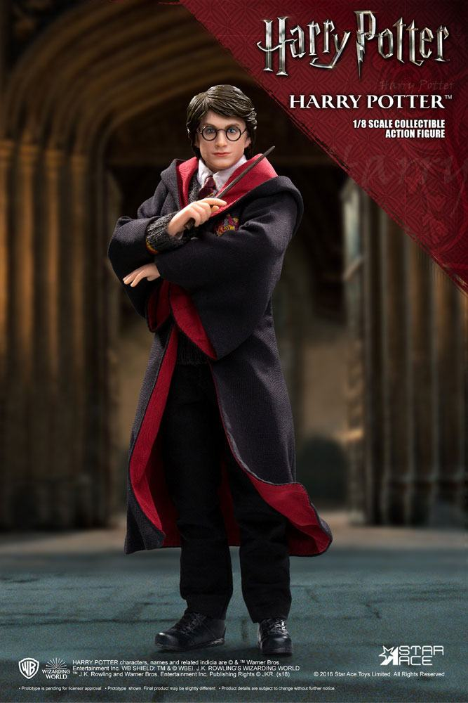 Harry Potter Real Master Series Action Figure 1/8 Harry Potter 2.0 Uniform Ver. 23 cm