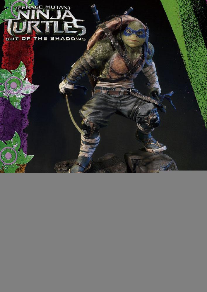 Teenage Mutant Ninja Turtles Out of the Shadows 1/4 Statue Leonardo 61 cm