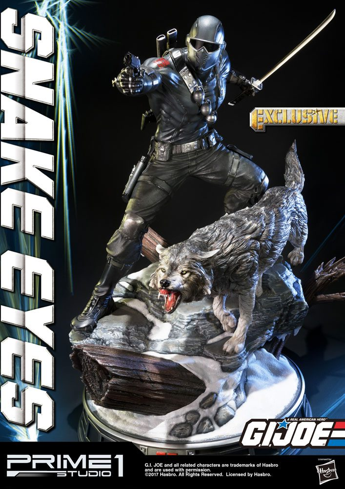 G.I. Joe Statues Snake Eyes & Snake Eyes Exclusive 65 cm Assortment (3)