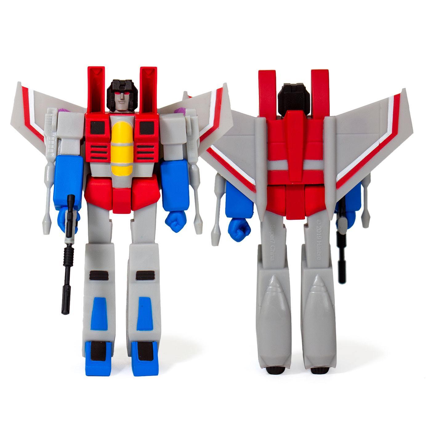 Transformers ReAction Action Figure Wave 1 Starscream 10 cm
