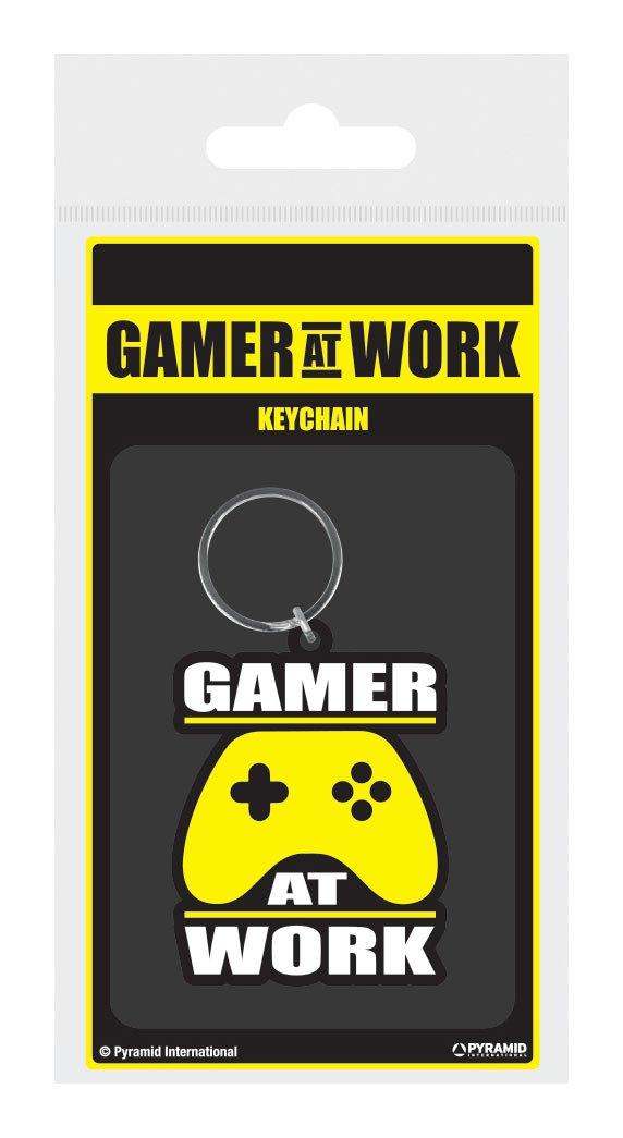 Gamer At Work Rubber Keychain Joypad 6 cm