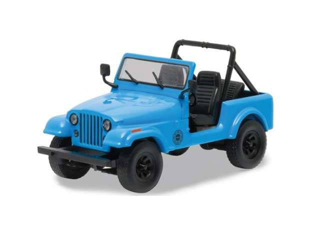 Lost Diecast Model 1/64 1977 Jeep CJ-7 Dharma