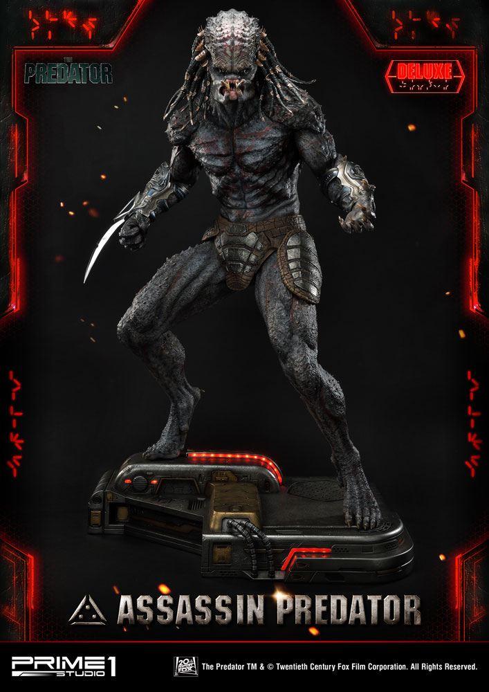 The Predator Statue 1/4 Assassin Predator Deluxe Version 93 cm