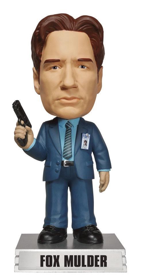 The X-Files Wacky Wobbler Bobble-Head Fox Mulder 15 cm