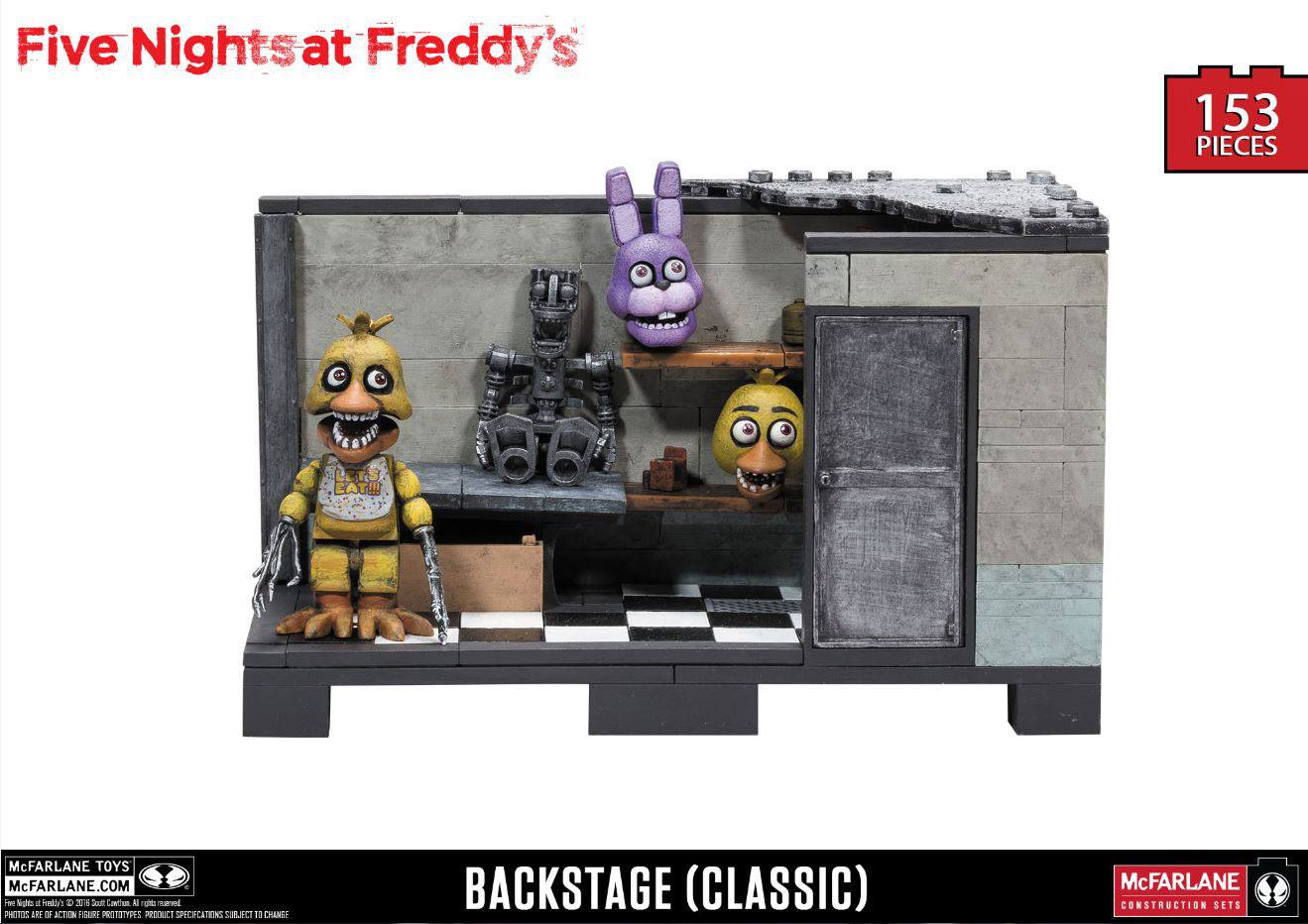 Five Nights at Freddy´s Medium Construction Set Backstage (Classic Series)