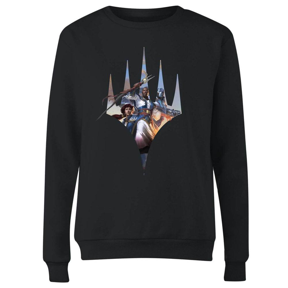 Magic the Gathering Ladies Sweatshirt Key Art Logo Size XL