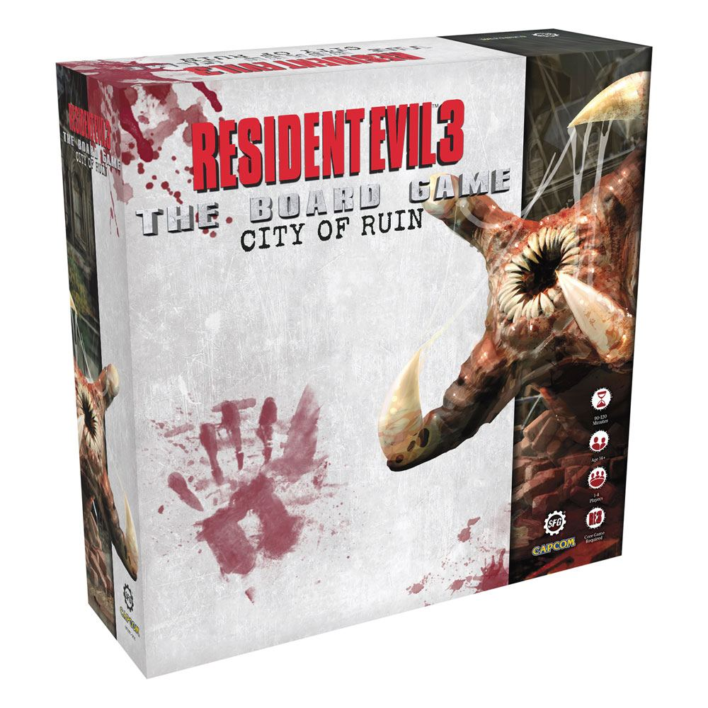 Resident Evil 3 The Board Game Expansion The City of Ruin *English Version*