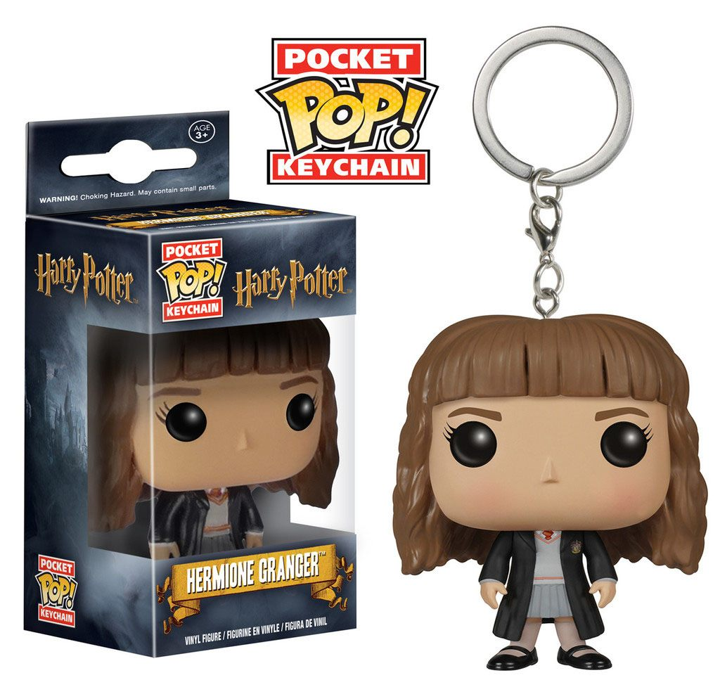 Harry Potter Pocket POP! Vinyl Keychain Hermione Granger 4 cm