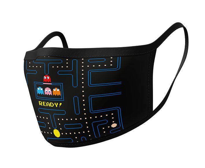 Pac-Man Face Masks 2-Pack Maze Ready